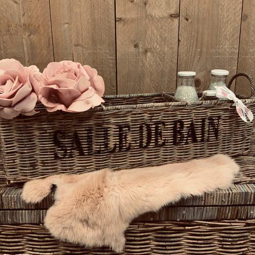 Rieten badkamermand Salle De Bain