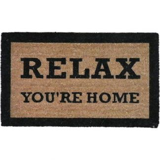 RELAX YOU'RE HOME