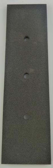 Alterna Luca rubber voor vloerwisser zwart rvs gepolijst 69623