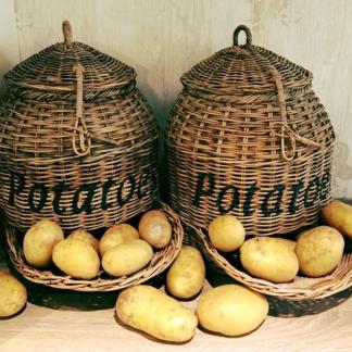 Rieten Aardappelmand