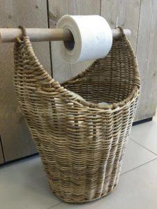 Toilet Rolhouder & Reserverol
