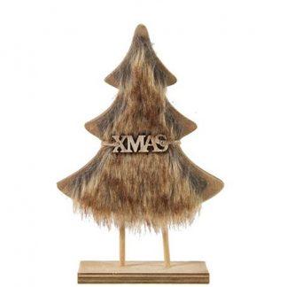 747308 - Kerstboom Xmas Ellis S bruin - l13,5b1h19,5cm