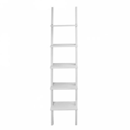 Decoratie Ladder wit