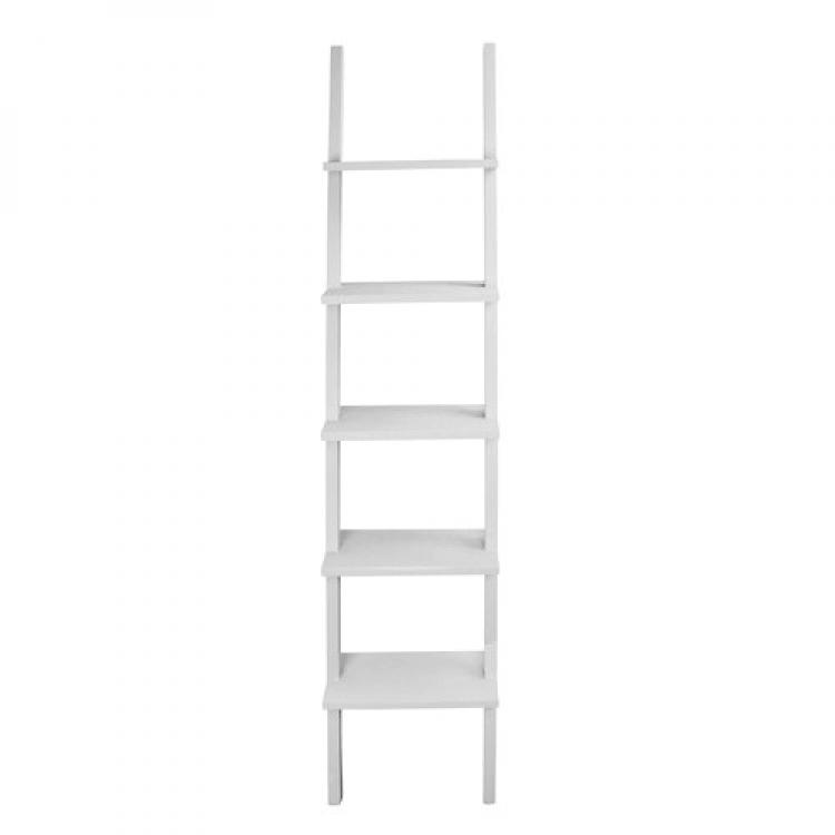 wand ladder wit decoshoppen landelijke woonaccessoires