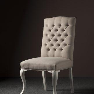 Jasmijn stoel - Linen 04 sand (V)