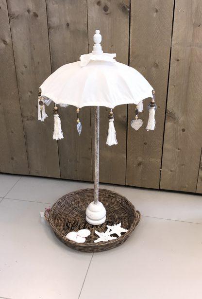 Tafel Parasol Wit