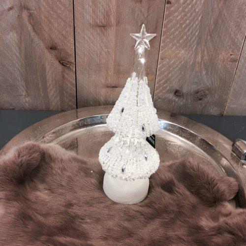Kerstboom glas met led s