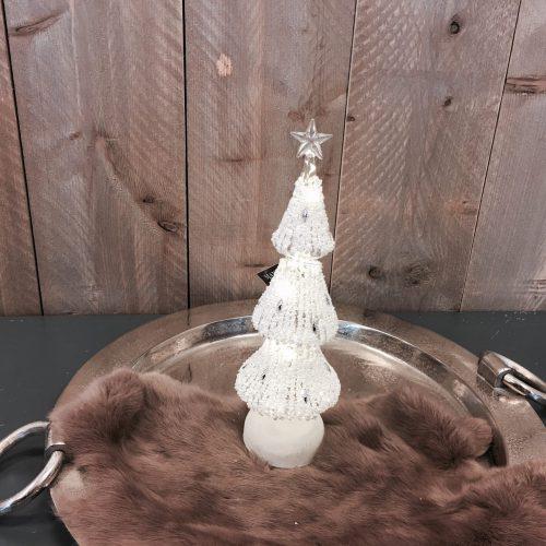 Kerstboom glas met led