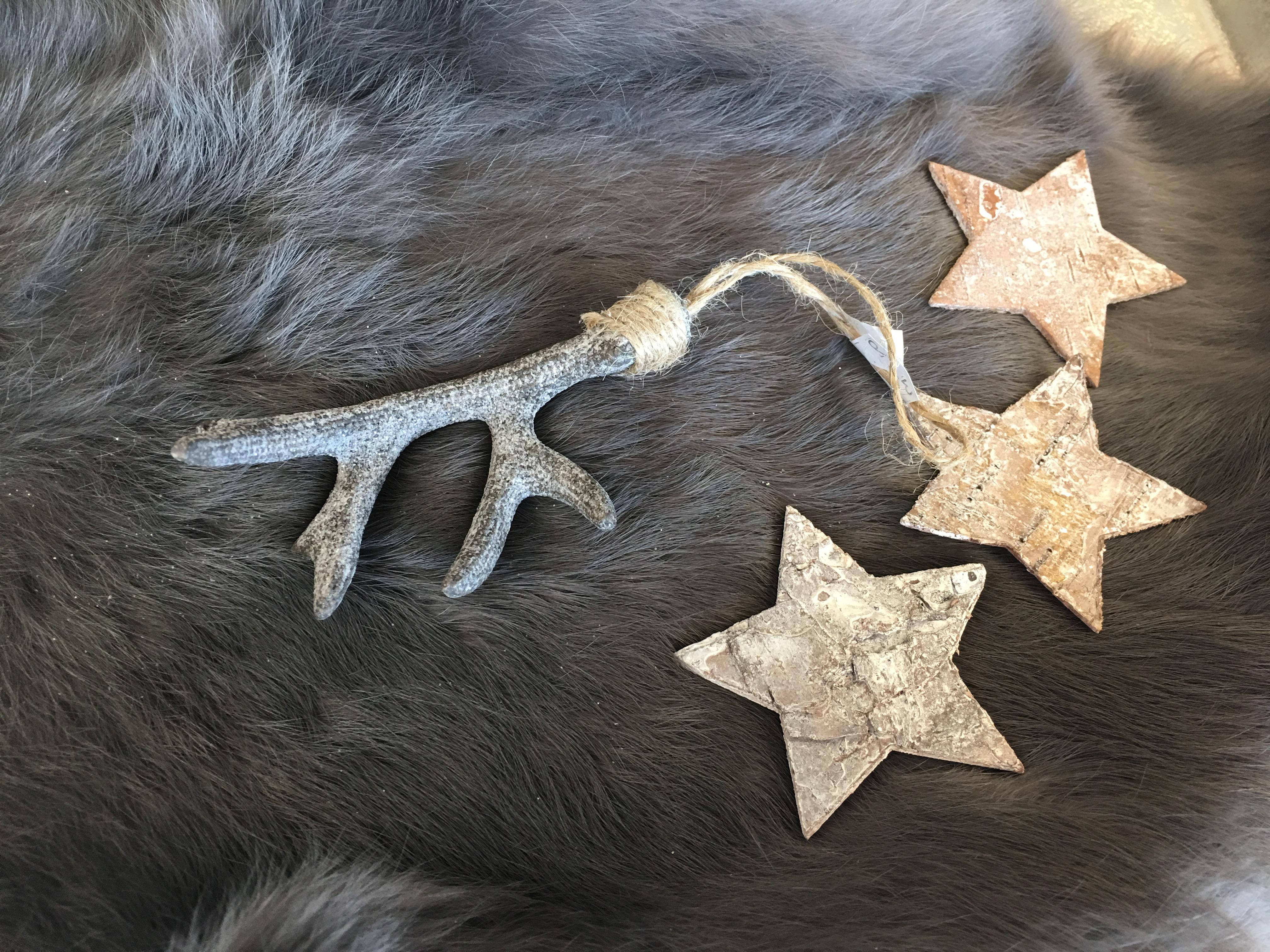 Decoratie gewei grijs decoshoppen leuke decoratie decoratie