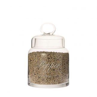 Voorraadpot glas Pepper