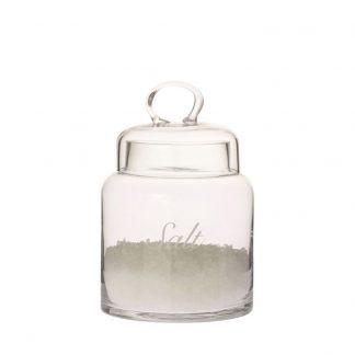 Voorraadpot glas Zout