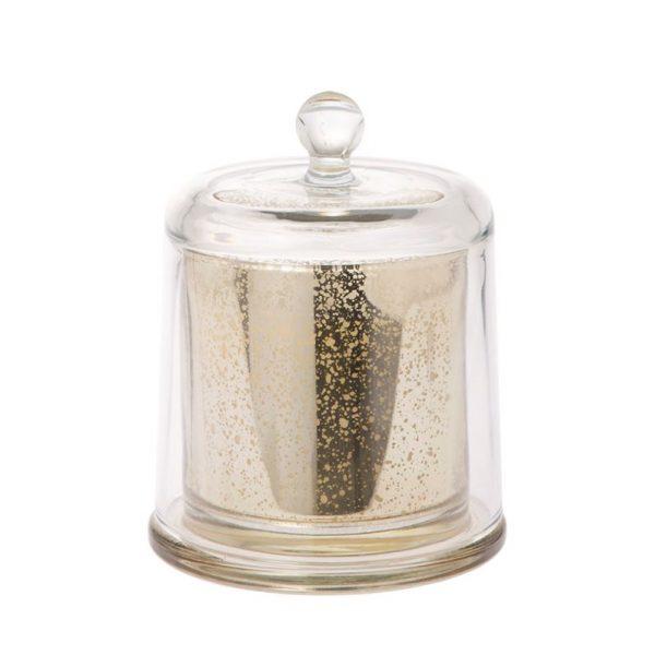 Kaarsenpot Luxury goud 18cm