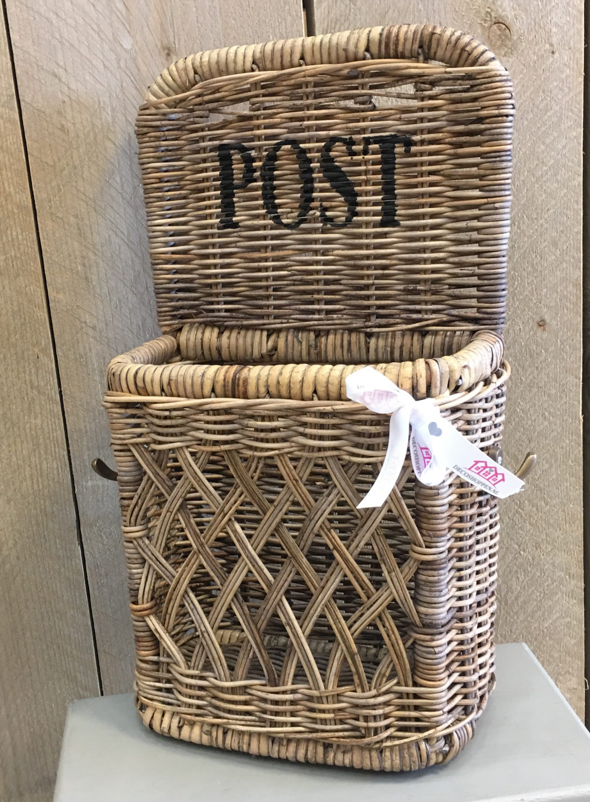Verbazingwekkend Post Wand Houder - Decoshoppen Postvak post opbergen YV-11