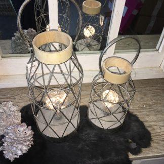 Led lamp Zilver L