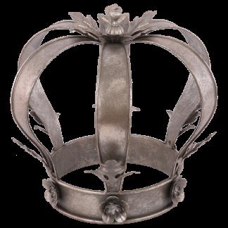 Decoratie kroon Elisabeth zilver