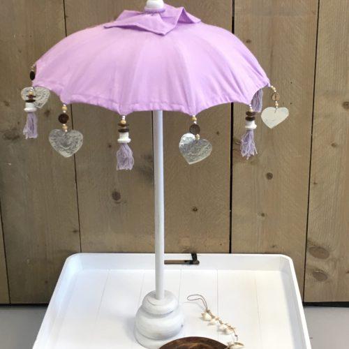 Tafel Parasol Lila