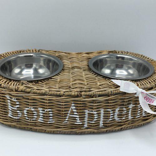 Rieten honden Bon Appetit