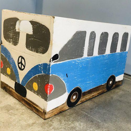 Toy Box VW Licht Blauw