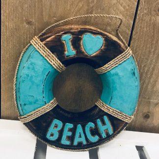 Boei i love Beachturquoise