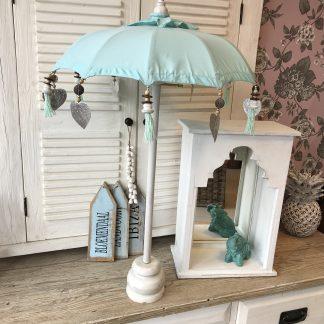 Tafel Parasol Turquoise