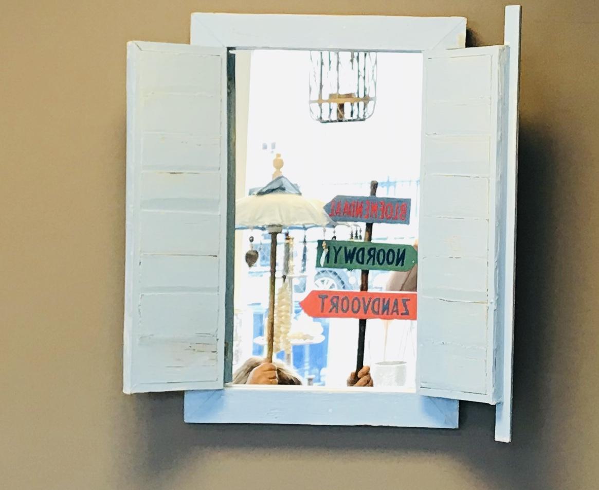 Spiegel Met Deurtjes : Spiegel louvre deurtjes decoshoppen spiegel louvre deurtjes