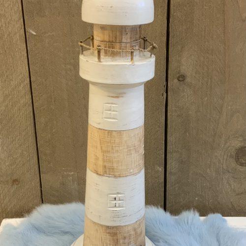 Vuurtoren White Wash 40cm