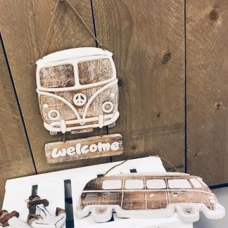VW bus Welcome