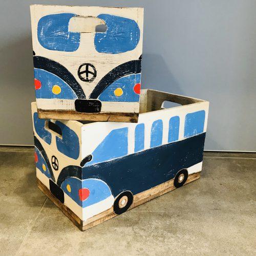 Toy Box VW Donker Blauw