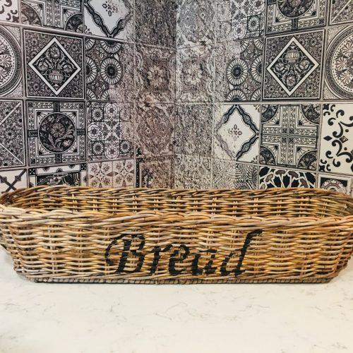 Rieten Bread mand