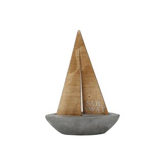 Zeilboot beton