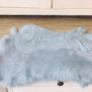konijnenvacht ijsblauw