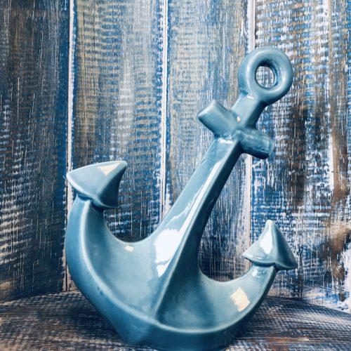 Anker Porselein blauw