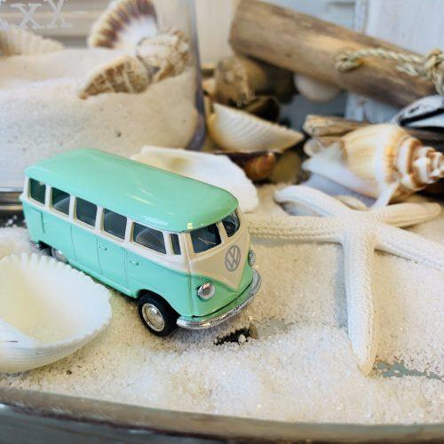 VW Bus Pastel Turquoise