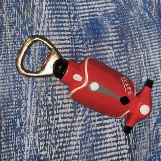 Vespa Opener Rood
