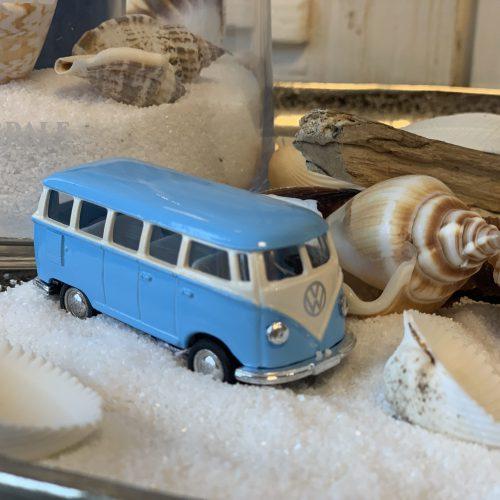 VW Bus Pastel Blauw