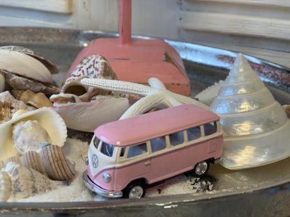 VW Bus Pastel Roze
