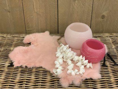Konijnenvacht Baby Roze
