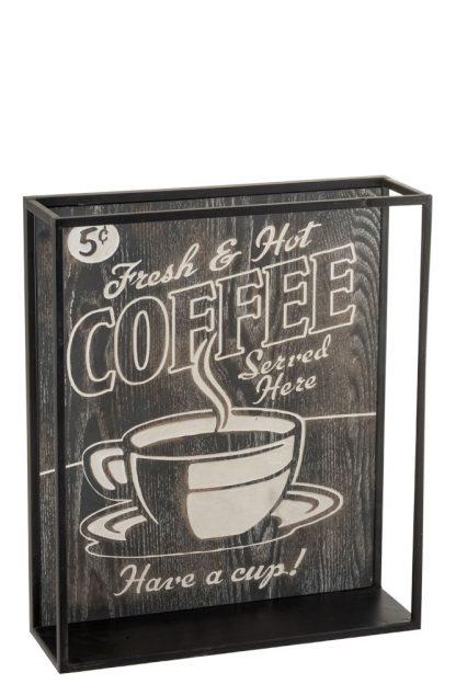 Wandrek Keuken Coffee