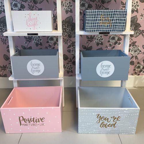 Kisten set Roze