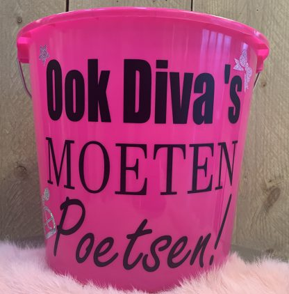 Roze Emmer Diva