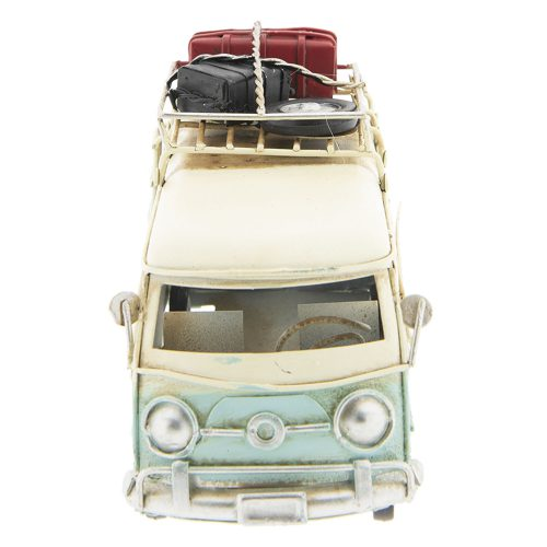 Bus turquoise