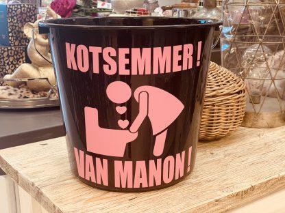 Kots Emmer vrouw met Naam