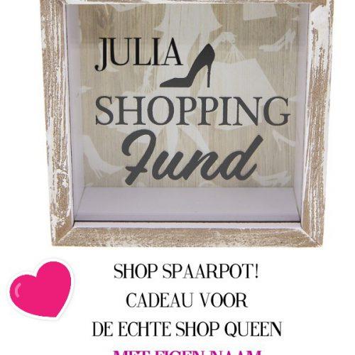Shopping Fonds Met Naam