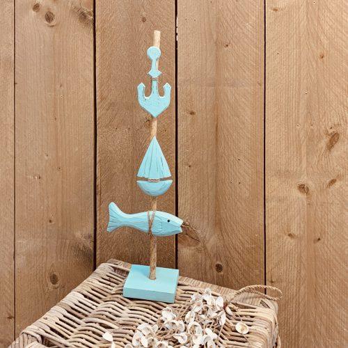 Beach stok Blauw