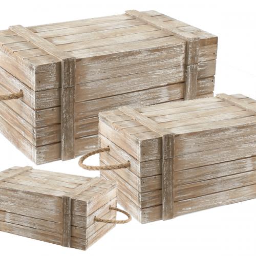 Kisten set van 3