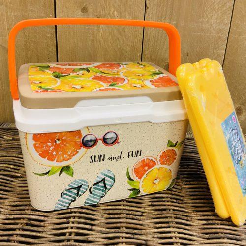 Koelbox Sun And Fun sinasappel