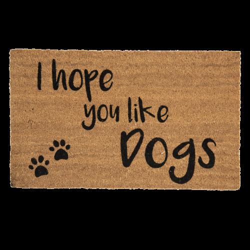 Deurmat you like dogs