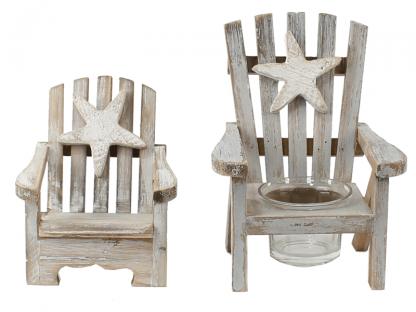 Strandstoel hout