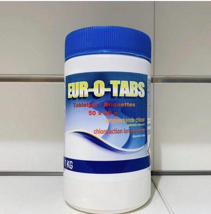 Chloortabletten 4-in-1 20gr 1 kilo