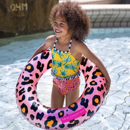 Zwemband panter 70 cm